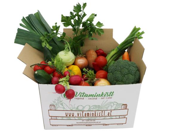 Vitaminkistl Gemüse